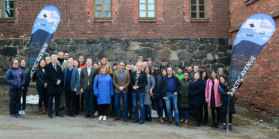 Participants at the Kick off meeting in Helsinki March 27–28. Photo by Tarmo Virtanen